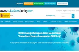 SUPERCUIDADORES ofrece formación para luchar contra el coronavirus