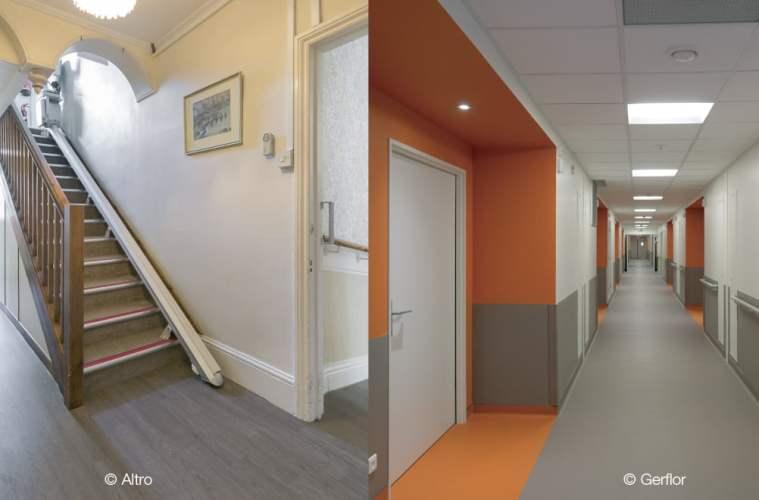 Pavimentos y revestimientos en centros sociosanitarios: novedades y buenas prácticas