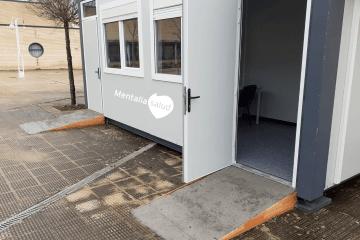 DomusVi habilita módulos exteriores para que los familiares puedan realizar visitas