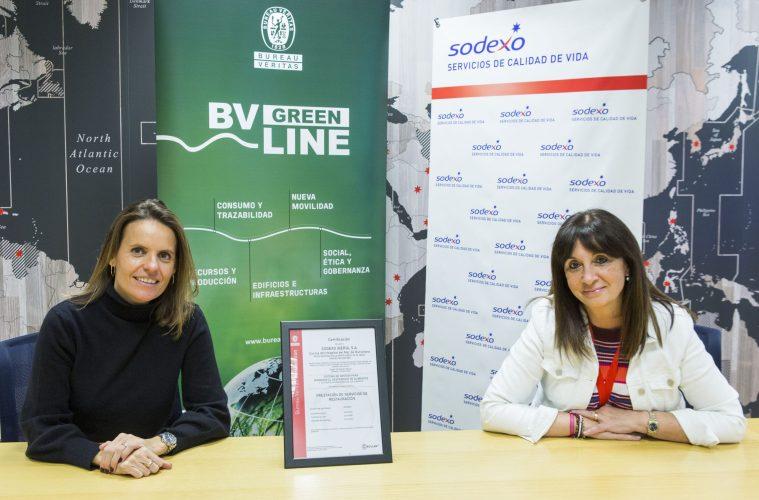 Sodexo Iberia logra la certificación de Bureau Veritas para minimizar el desperdicio alimentario
