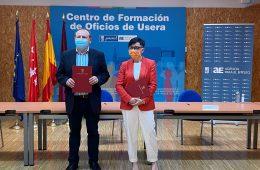 La Agencia para el Empleo de Madrid y Amade firman un convenio de prácticas en el sector sociosanitario