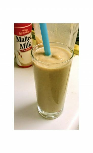 Malted Date Shake