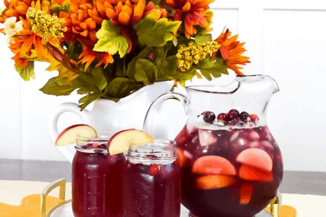 Holiday Apple Cranberry Iced Tea