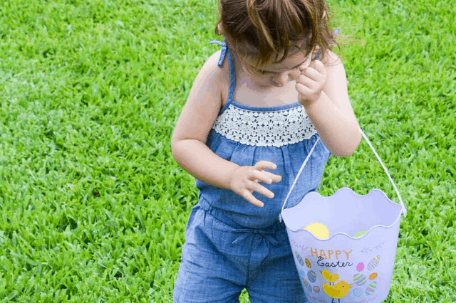 Toddler Easter Baskets - That Aren't Candy!