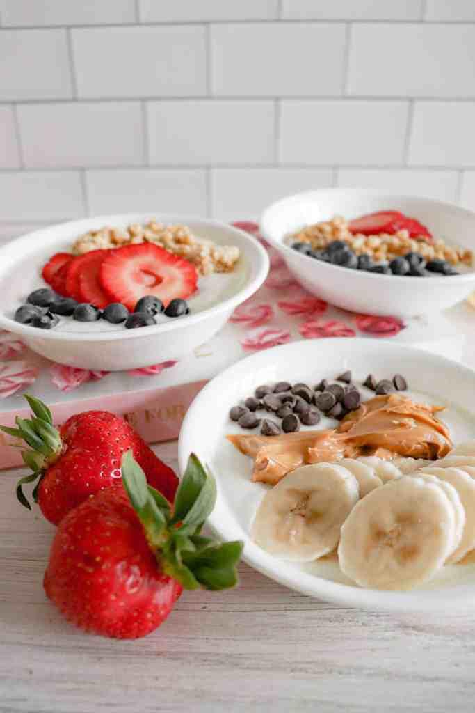 Quick & Easy Yogurt Bowl Recipes
