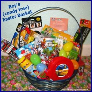 Boy Candy Free Easter Basket