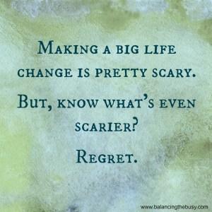 big life change