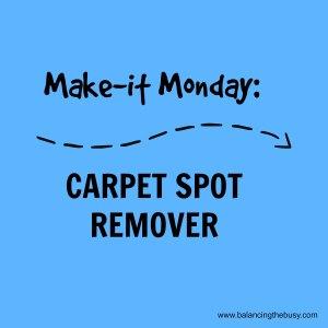 carpet spot remover