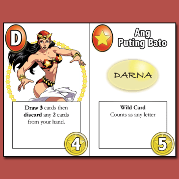 The Story behind Darna at ang Nawawalang Bato the card game (Part1)