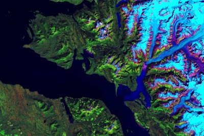 Alaska Aerial Mapping Frederick Sound Cape Fanshaw