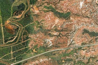 Rangeland Brush Management Mapping West Texas Blue Quail