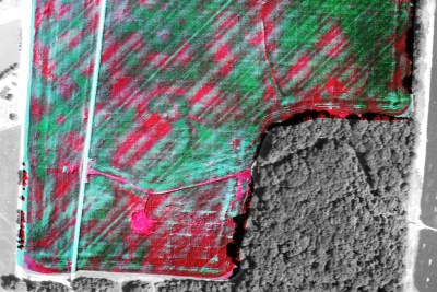 nitrogen application striping