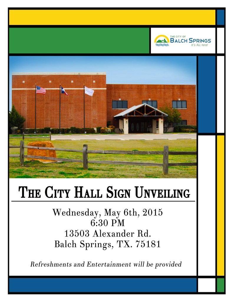 City Hall Unveiling_Flyer