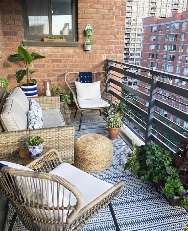 27 Comfy Balcony Ideas For Small Apartment Unique Balcony Garden Decoration And Easy Diy Ideas