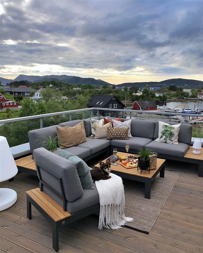 roof terrace ideas with comfortable