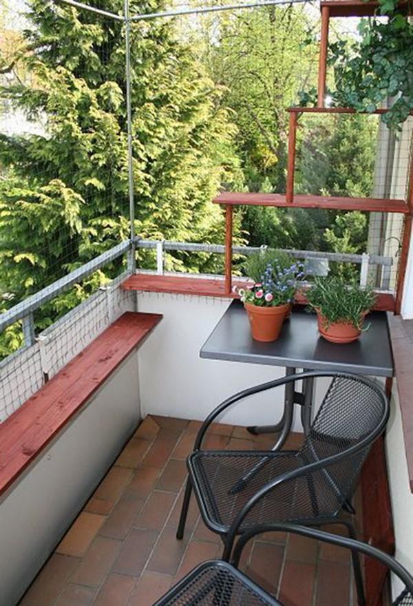 balcony pet fencing secure