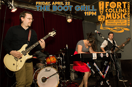 Amy and the Peace Pipes at FoCoMx, Friday, 11pm - The Boot Grill