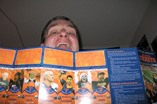 Why the Broncos preventing ticket printing is evil