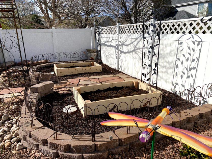 Our garden work