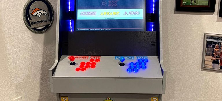 Our Winter Break Project – A RetroPie Arcade