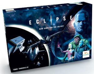 eclipse-boardgame 4X space opera - scatola di gioco