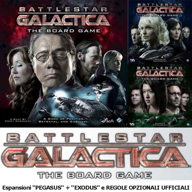 Battlestar Galactica Gioco da tavolo
