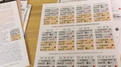 Carte per la Variante in Solitario contenute nella rivista.