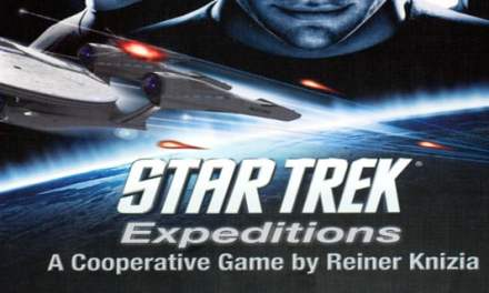 Star Trek Expeditions – board game