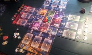 Inizio di una partita con 4 giocatori