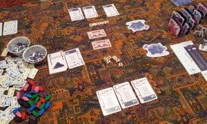 L'inizio di una partita a due giocatori