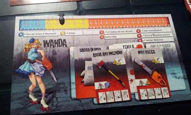 Zombicide - scheda Wanda