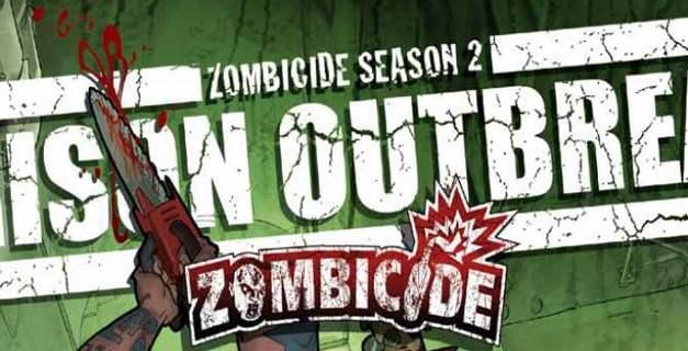 Zombicide season 2 Prison Outbreak