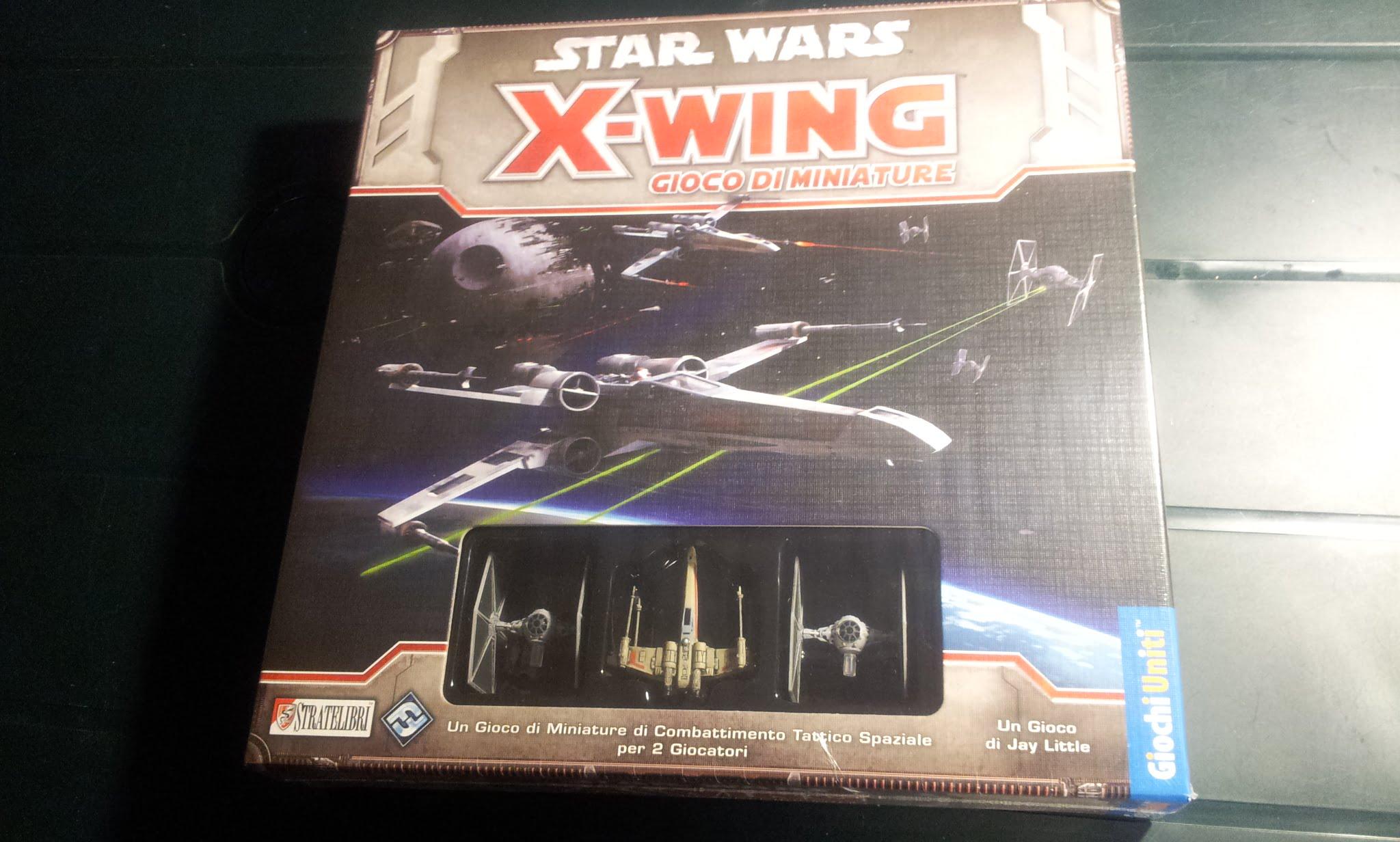 Bien connu Star Wars: X-Wing - Giochi Uniti | Balena Ludens DF47