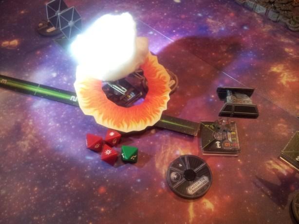 Al turno successivo una inversione Koiogran porta Darth Vader alle spalle dell'Ala-Y: è la sua fine.