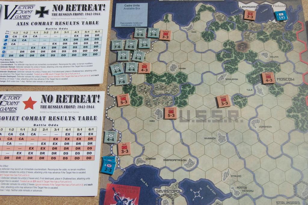 Setup dell'operazione Barbarossa.
