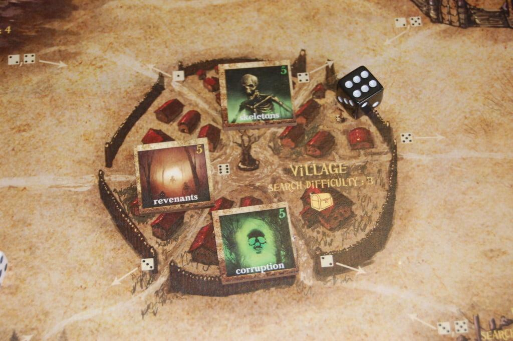 Il villaggio dove albergano 3 maledizioni