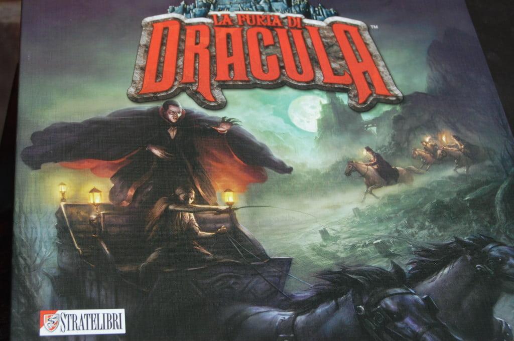 La Furia di Dracula - scatola