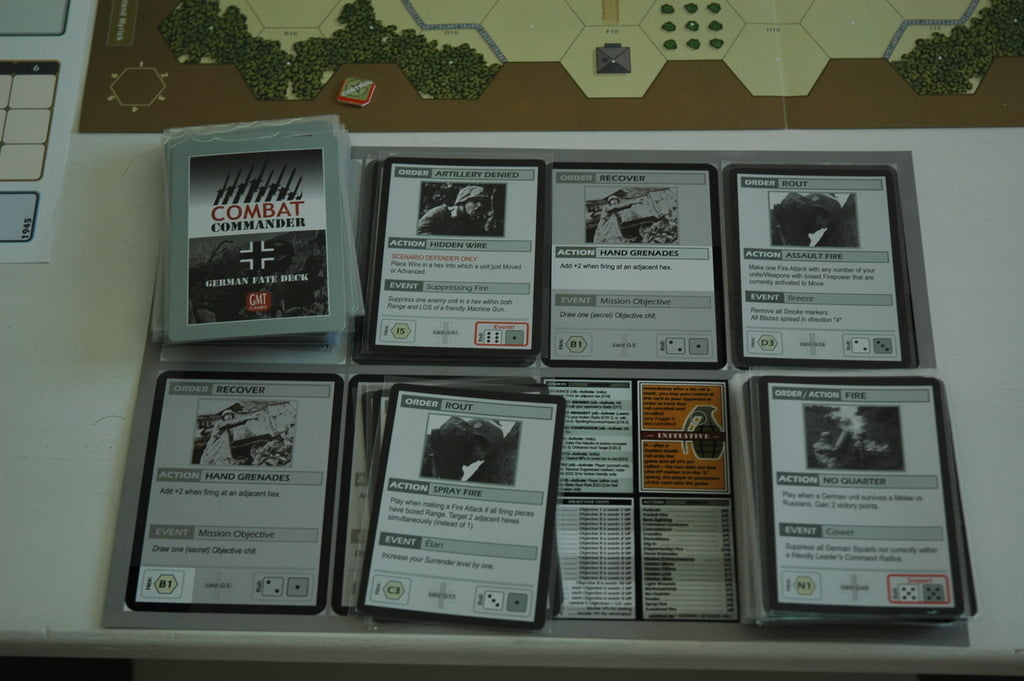 Combat Commander - alcune carte