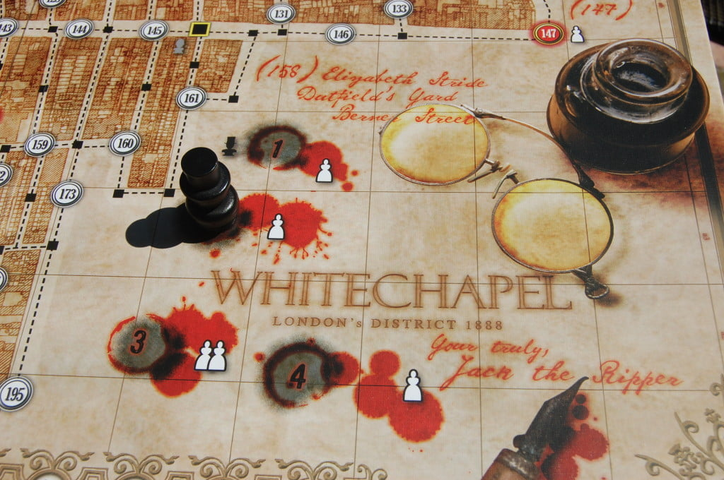 Lettere da Whitechapel - la track dei 4 episodi