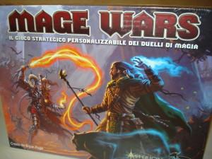 La scatola di Mage Wars