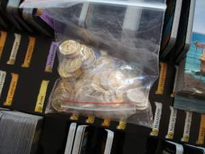 Le monetine incluse in Seaside, bellissime!