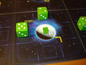 A sua volta il giocatore verde colonizza il pianeta più vicino...