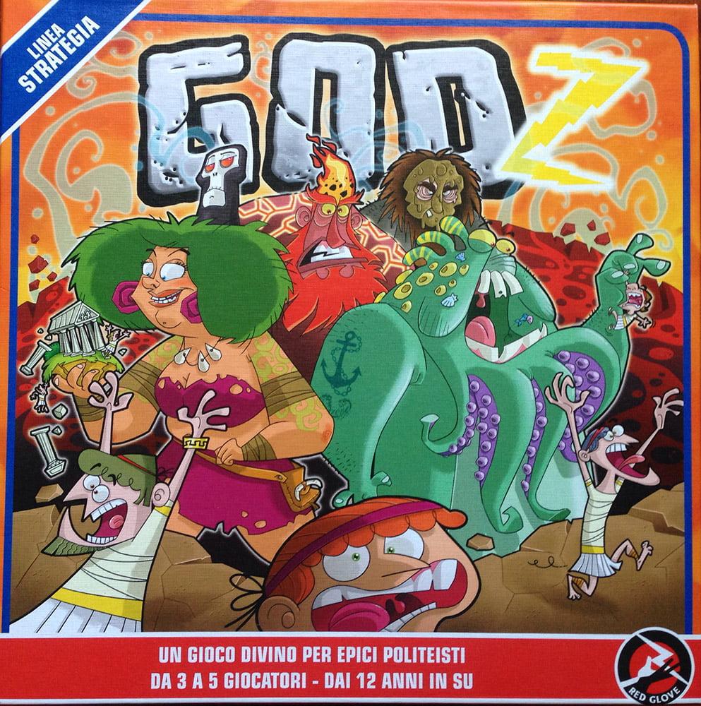 L'accattivante copertina di Godz