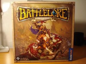 La scatola di BattleLore Seconda Edizione.