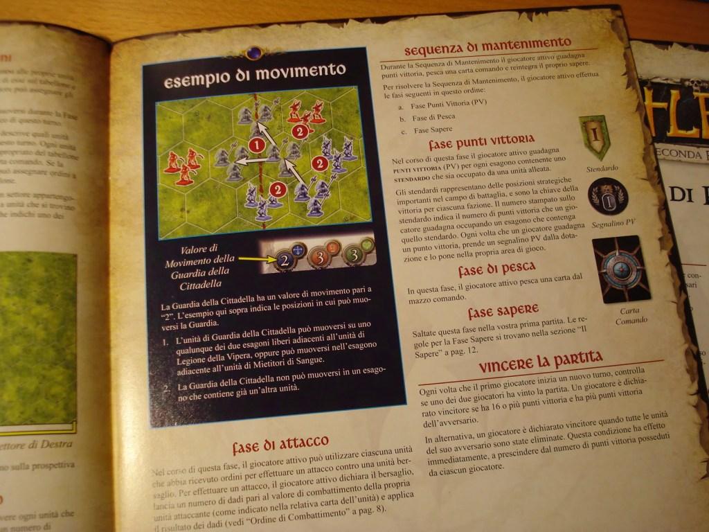 Ben fatto il manuale: le regole sono chiare e la traduzione in italiano ottima.