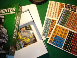 Unboxing: 2 counter sheet e 240 carte costituiscono il cuore del nuovo gioco della DVG.