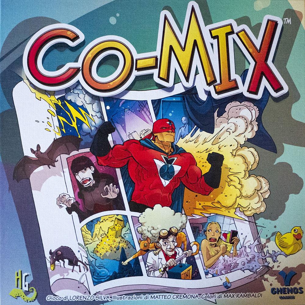 La coloratissima copertina di Co-Mix