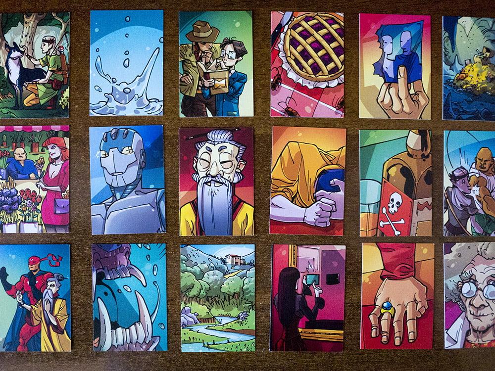Carte di tutti i tipi e per tutti i gusti (e questa è solo una piccola selezione).