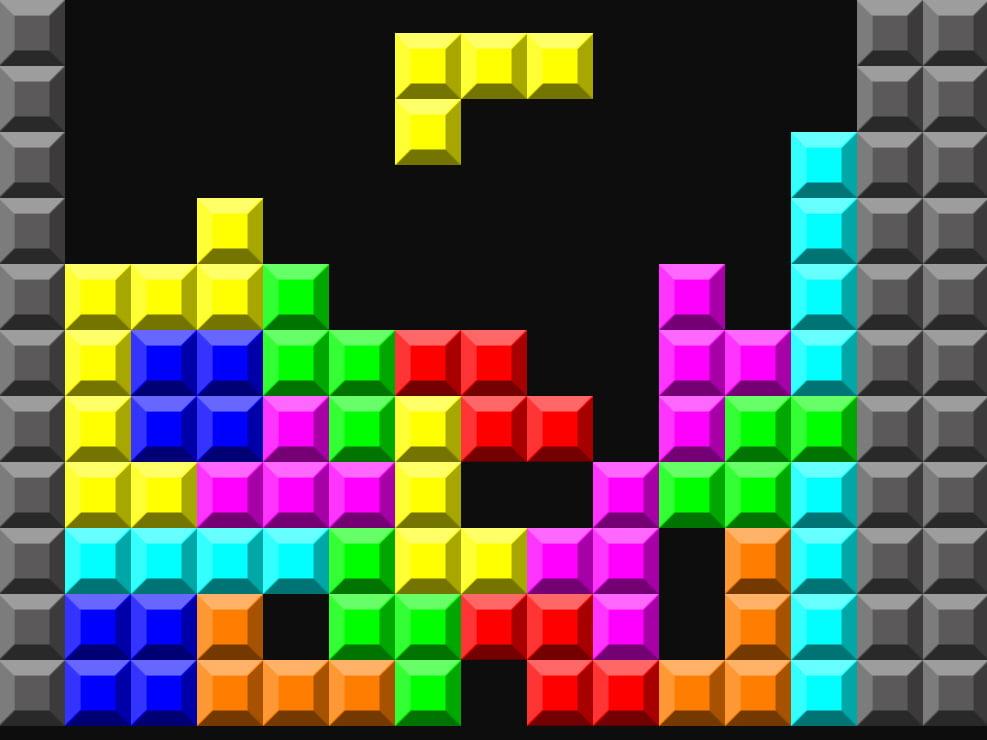 Vi ricorda qualcosa il caro vecchio Tetris?