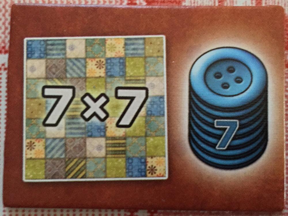 L'ambito bonus dei 7 bottoni: lo riceverà solo chi completerà l'area 7x7 per primo